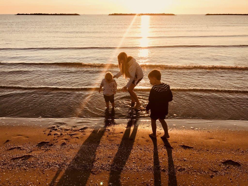 Kinder mit Fernweh-Gen
